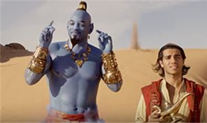 FILM TRAILER: <I>Aladdin</I>