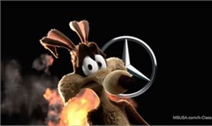 VFX: Blacksmith breaks down their Mercedes-Benz Super Bowl work