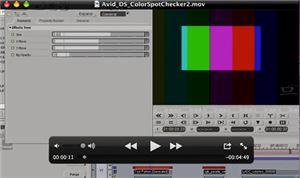 Avid DS Basic Color Balancing