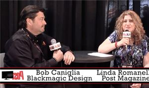 Post Party 2015: Blackmagic Design's Bob Caniglia