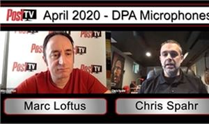 Post TV: DPA Microphones' Chris Spahr