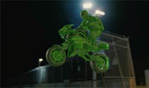 VFX: Digital Domain's work on 'G.I. Joe; Retaliation' (Motorcycle)