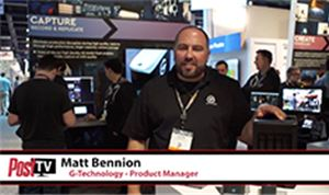 Post TV at NAB 2018: G-Technology