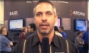 NAB 2012: Bob Herzan from Rorke Data