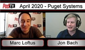 Post TV: Puget Systems' Jon Bach