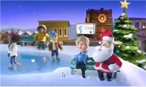 Bent Animates Alltel's Latest Holiday Spot