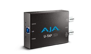 AJA ships USB 3.0 powered U-TAP products