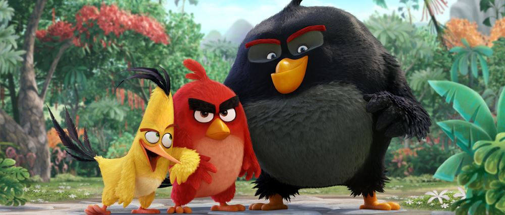 Animation: <i>The Angry Birds Movie</i>