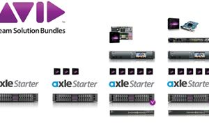 Avid packages Axle Starter with NEXIS|Pro