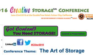 Creative Storage Conference set for June 23rd