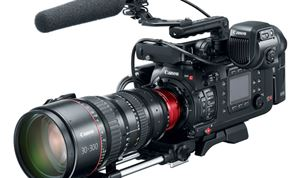 Canon grows EOS line with flagship C700