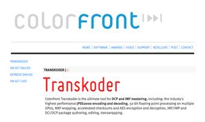 Colorfront debuts Transkoder 2016 on Mac
