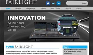 Fairlight selling off its pro audio technology