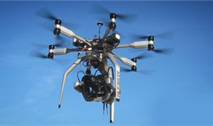 Intuitive Aerial drone supports UHD cameras