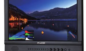 JVC's ProHD monitors suitable for studio & field use