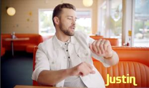 Music Video: Justin Timberlake — <i>Can't Stop the Feeling!</i>