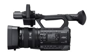 Sony debuts compact 4K camcorder