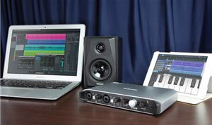 Tascam's new USB audio interface optimized for iOS