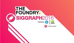 The Foundry to highlight customers' work at SIGGRAPH 2016