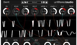 Unfiltered Audio releases Dent distortion plug-in