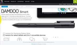 Wacom introduces Bamboo Smart Stylus