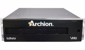 Archion unveils integrated SSD & HDD EditStor solutions