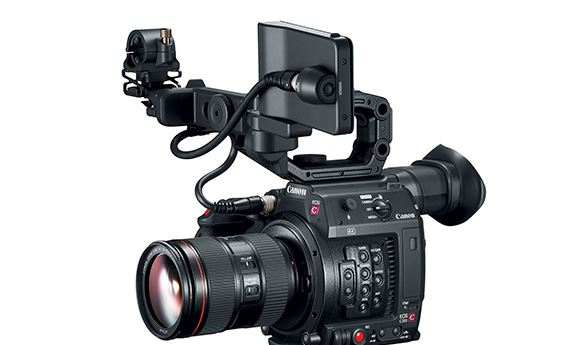 Canon introduces 4K-capable C200 cameras