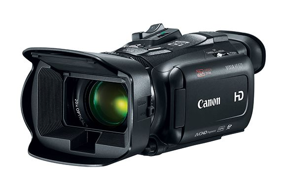 Canon introduces three new Full HD camcorders