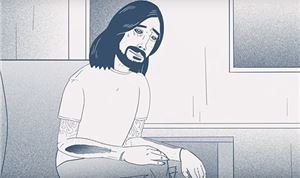 Dave Grohl gets animated over new album
