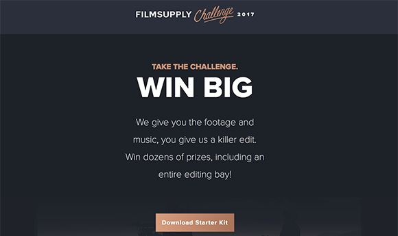 'Filmsupply Challenge' offers $50K in prizes
