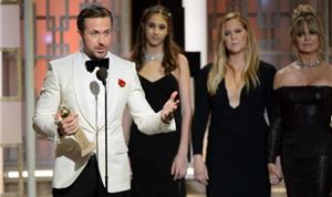 Winners honored at 74th Golden Globes
