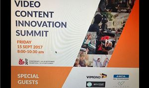 IBC Video Content Innovation Summit set for 9/15