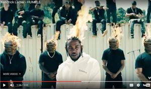Music Video: Kendrick Lamar — <i>Humble</i>