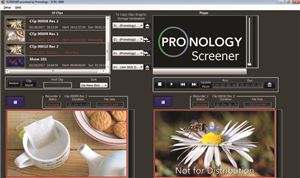 Pronology debuts MP4-based Screener
