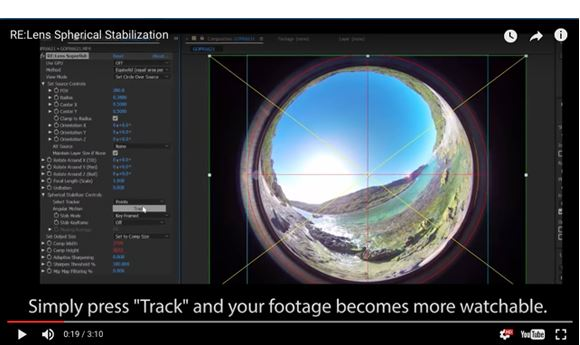 RE:Lens plug-in provides stabilization, distortion correction