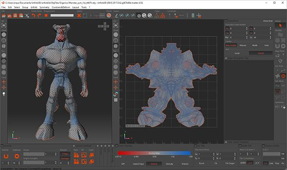 Rizom-Lab releases two new editions of UV unwrapping software