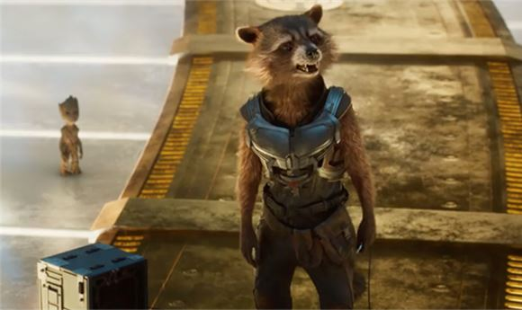 Shed creates dailies for <I>Guardians 2</I>