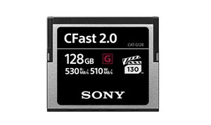 Sony to launch 500+MB/s CFast 2.0 memory cards