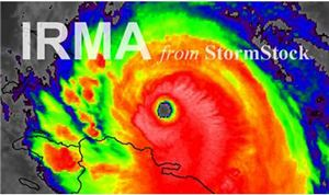StormStock capturing Hurricane Irma footage