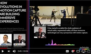 New podcast looks at 'Evolutions in Motion Capture'