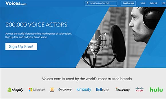 Voices.com to acquire Voicebank.net