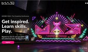 Registration open for October's Adobe Max conference