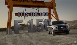 Big Block helps Ford promote new F-150 trucks
