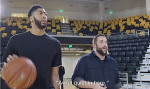 Web: Red Bull pranks NBA's Anthony Davis
