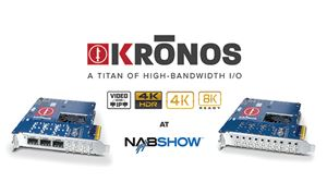 Bluefish444 demos Kronos range of I/O cards