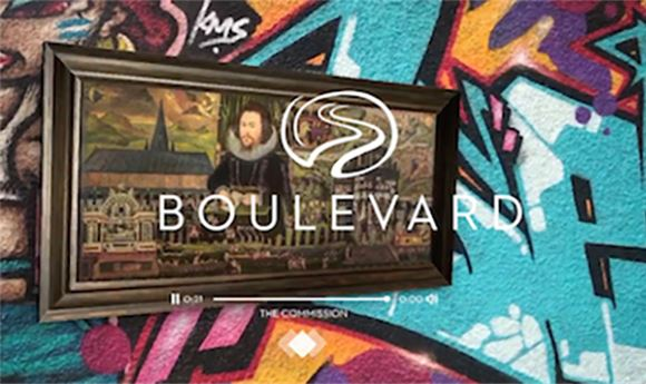 Boulevard Arts & Nice Shoes partner on AR app