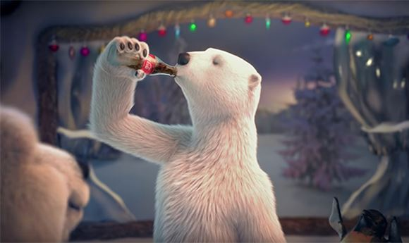 Coke's polar bears turn 25