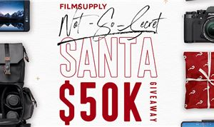 FilmSupply hosting 'Not-So-Secret Santa' giveaway