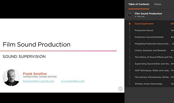 Sound veteran Frank Serafine partners with Pluralsight on training series