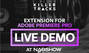 Killer Tracks demos Adobe Premiere plug-in for music searches
